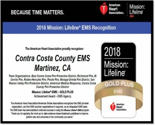 Congratulations Contra Costa County EMS!