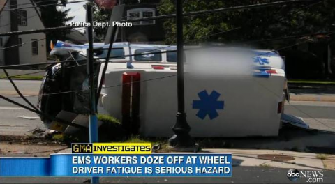 New Study Published on Fatigue Risk Management in EMS